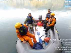Jasad Imran yang Tenggelam di Danau Toba Desa Tongging Belum Ditemukan, Akan Ditabur Bunga
