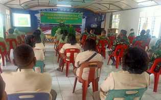 Kodim 0205/TK Gelar Sosialisasi Panduan Penggunaan Medsos Bagi Prajurit TNI