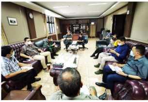 Rapat Bahas Covid-19 tak Hadir, Bupati Karo Akan Laporkan SKPD ke Inspektorat Sumut
