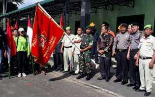 Kasdim 0212/TS Lepas Peserta Napak Tilas Kota Padangsidimpuan