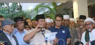 Prabowo Deklarasi Kemenangan Lagi