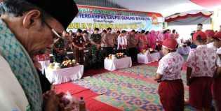 Kapoldasu dan Bupati Karo Hadiri Doa Massal di Desa Sukatepu