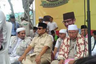 Prabowo Subianto Tegaskan Maju Pilpres Bukan Haus Kekuasaan