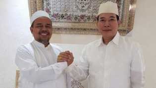 Tommy Soeharto Bertemu Habib Rizieq di Mekah