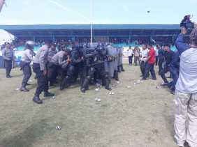 Pengamanan Pemilu 2019 di Karo: Gelar Upacara Operasi Mantap Brata Toba