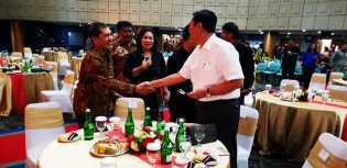 Undangan Menko Kemaritiman, Bupati Karo Hadiri di Perayaan Natal Bersama di Jakarta