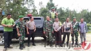 Kompak, Sinergritas Kodim 0205/ TK -  Polres Karo Gelar Patroli Gabungan di Gunung Sibayak