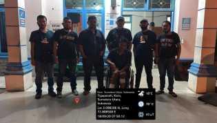 Satreskrim Polres Karo Ringkus Pelaku Pencurian Mobil Penumpang Merek Simas di Langkat