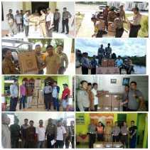 Besok Pilpeng Serentak, Polres Rohil Kawal Pendistribusian Logistik dan Kamtibmas
