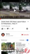 Video Amatir Detik - detik Tahanan Rutan di Pekanbaru Kabur Tersebar Melalui Youtube