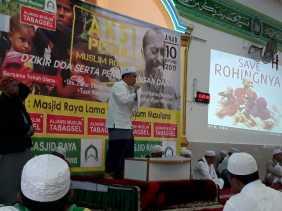Aliansi Muslim Tabagsel Minta Pemerintah Aktif Terhadap Muslim Rohingya