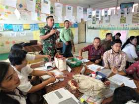 Babinsa Rangkap Ketua Komite SDN 040451 Kabanjahe, Serda Hormat: Memajukan Dunia Pendidikan