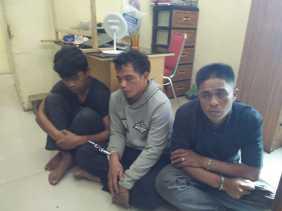 Polres Tanah Karo Amankan Tiga Pelaku Pencurian Dirumah Warga, Kerugian 400 Juta