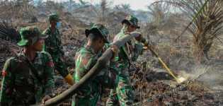 KLHK Kirim Helikopter Patroli Karhutla ke Riau