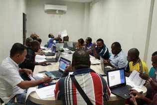 Papua: Partai Demokrat Meepago Gelar Pelatihan Input Data Caleg  Sistim Online