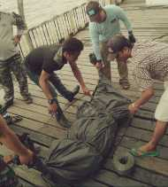 Mayat Mr X Ditemukan Nelayan Ketika Jaring Ikan di Laut Sinaboi, Rokan Hilir