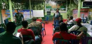 Kodim 0321/Rohil Rapat Evaluasi Kegiatan TNI-MMD, Pasiintel: Bahas Pencapaian dan Progres Kerja