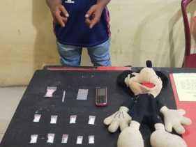 9 Paket Narkotika Sabu Diamankan Polres Karo dari Seorang Petani di Batukarang