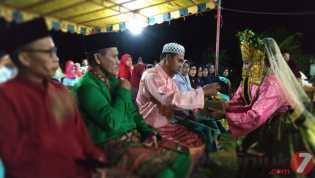 Joget Dangkong Meriahkan Berlangsungnya Halal Bihalal di Desa Kote