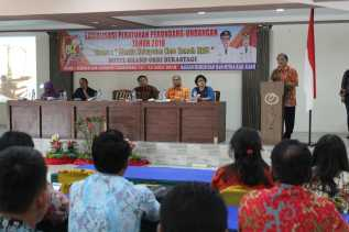 Sosialisasi Perundang - undangan 2018,  Karo Menuju Jadi Human Right City