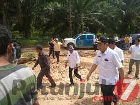 Bupati Karo Tinjau Lokasi Banjir di Desa Lau Garut, Kades: Berharap Perhatian Pemerintah