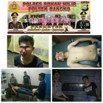 Alam Kabur, Iwan Ditangkap Warga dan Diserahkan ke Polsek Bangko Karena Curanmor