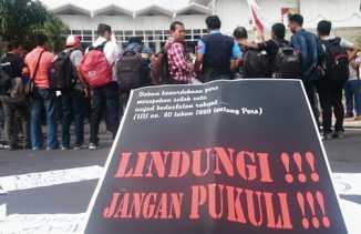 Wartawan Dianiaya Oknum Polisi, Kapolres Mimika Mengaku Anggotanya Tidak Profesional