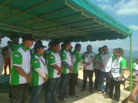DPW Walantara Sumut Tanam Ribuan Bibit Pohon di Objek Wisata Puncak Pelangkah Gading