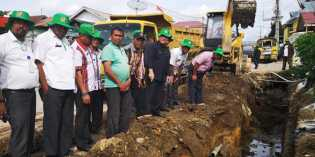Banjir, Bupati Karo Perintahkan Normalisasi Drainase di Desa Ketaren