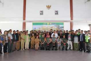 Tim Sergap Mabes TNI AD Sosialisasi Penyerapan Gabah Untuk Petani di Karo, Dairi dan Pakpak Bharat
