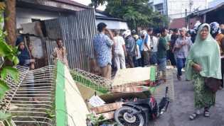 Tertimpa Tembok Pagar Sekolah, Siswa SD di Sukajadi (Pekanbaru) Pingsan