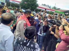 Kunker ke Polres Karo, Kapoldasu Salut Terhadap Desa Kandibata yang Terapkan Peraturan Soal Covid 19