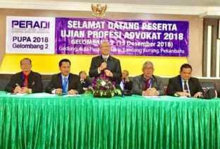 UPA Peradi Digelar Serentak se - Indonesia di Pekanbaru