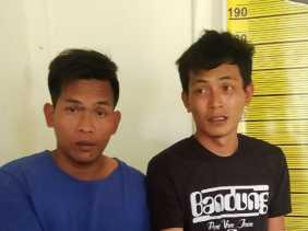 Dua Pria Ini Ditangkap Polsekta Berastagi Karena Konsumsi Sabu, Kanit Reskrim: Sabu Dibeli dari MPAL