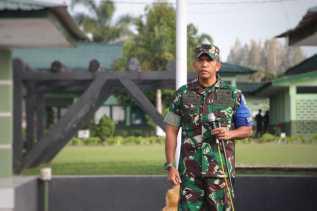 450 Prajurit Latihan Pratugas Satgas Pamtas RI-PNG Yonif 125/Smb TA 2020 Selama 12 Hari
