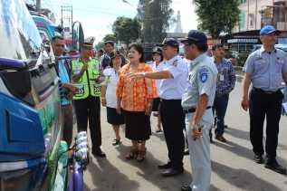 Jelang Arus Mudik Lebaran 2018, Wabup Karo Gelar Ramp Check Kendaraan