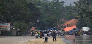 Tanggul Sungai Cimanuk Terancam Jebol di Indramayu, 6.000 Orang Dalam Bahaya