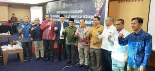 Bawaslu, KPI dan KPU Riau Teken MoU Pengawasan Penyiaran Iklan Kampanye