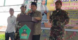 Bupati Karo Hadiri Halal Bihalal Ukhuwah Islamiyah di Desa Lingga