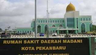 Progres Pembangunan RSD Madani Pekanbaru Capai 90 Persen