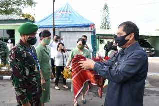 Bupati Karo Sambut Kolonel Inf Febriel B Sikumbang Sebagai Danrem 023/KS yang Baru Menjabat