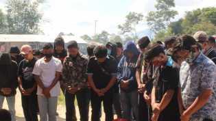 HUT ke 17, SL Community Karo Sumbang Sembako ke YPKC GBKP Alpa Omega di Simpang Desa Lingga