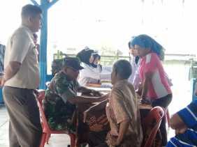 Potret Bakti Sosial TNI Kodam I/BB dengan Off-Road Expedition Medan - Bukit Tinggi 2019 di Karo