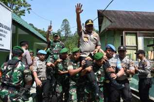 Kunjungan bersama Kapoldasu ke Taput, Pangdam 1/BB: TNI - POLRI Adalah Saudara...