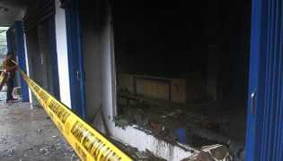 Seorang Nasabah Pembakar Kantor Mandiri Tunas Finance di Medan Berhasil Ditangkap Polisi