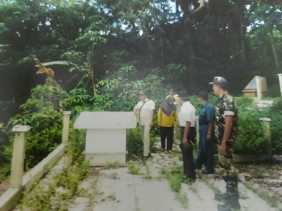 Ketua LVRI Tapsel Menangis Melihat Makam Tugu Pahlawan Tatengger Tidak Dirawat