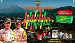 Millenial Road Safety Festival di Karo: Pawai, Dihibur Band Coklat dan Erik Sihotang dan ...