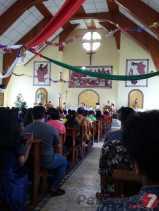 Ibadah Natal di Gereja Santo Petrus Batu Karang (Karo) Berjalan Khidmat