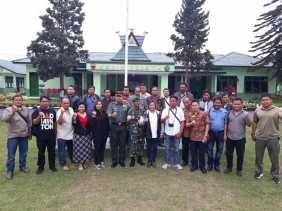 Coffee Morning, Dandim 0205/TK: Pers dan LSM Punya Peran Penting Dalam Pembangunan