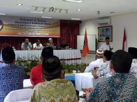 Panwas se-Kecamatan Tapsel Dilantik, Harus Mampu Hadapi Dinamika Politik